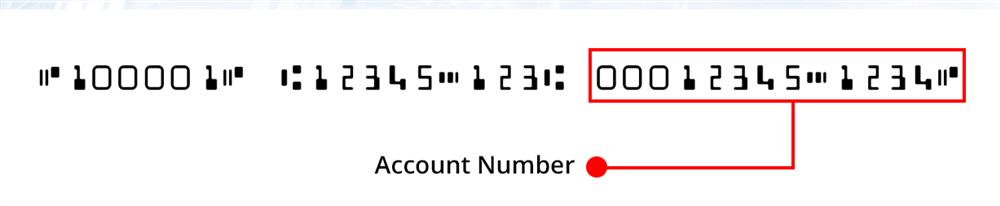 This number is found at the bottom of your cheques, to the right of the institution number.
