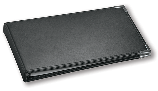 2 To-A-Page Cheque Binder