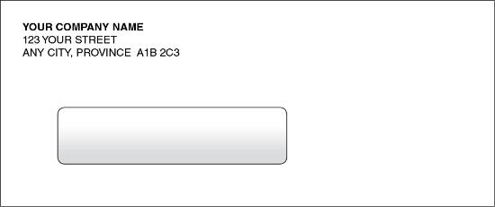 Manual Cheque Envelope