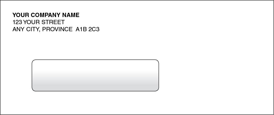 Computer Cheque Envelope