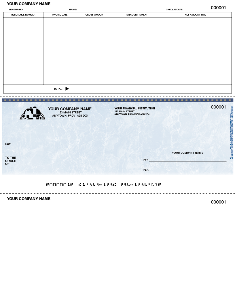 Accounts Payable Cheque
