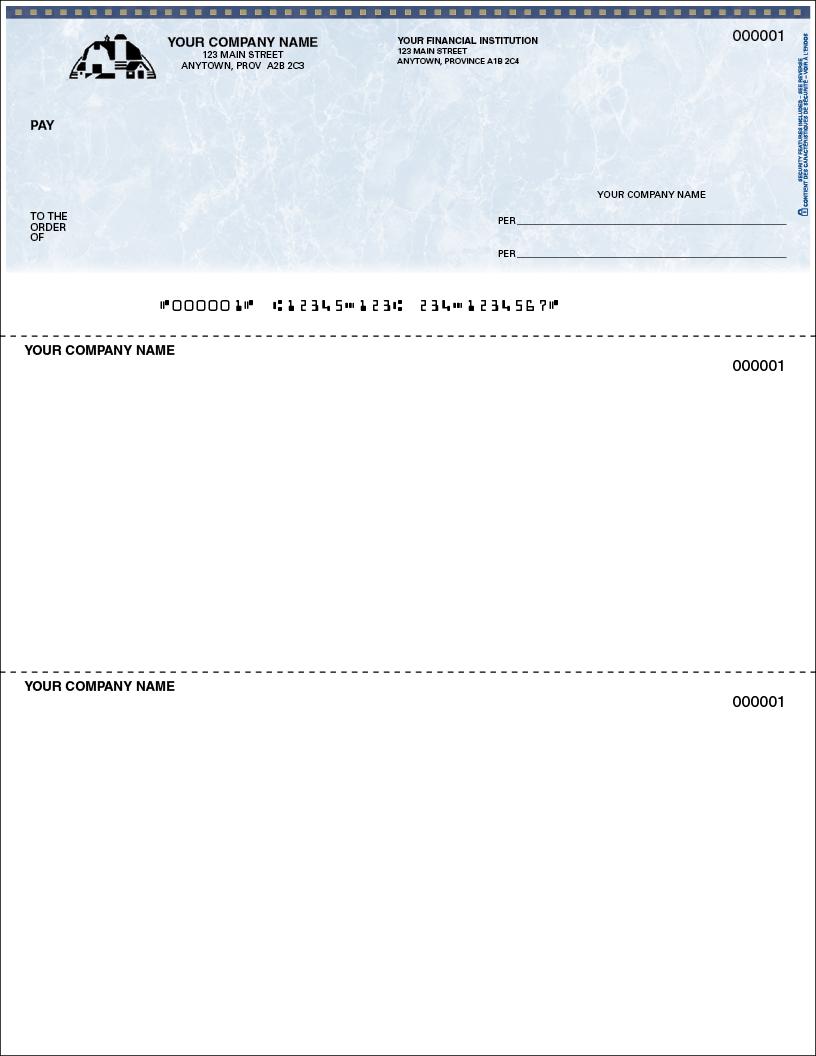 Multi-Purpose Cheque (SLF154)