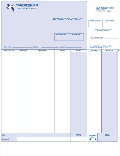 Statement - Long Format